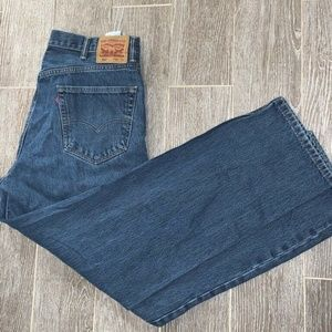 Levis 550 Mens Classic Straight Jeans Blue Medium